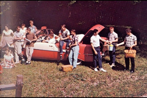 Late 50s High School Picnic