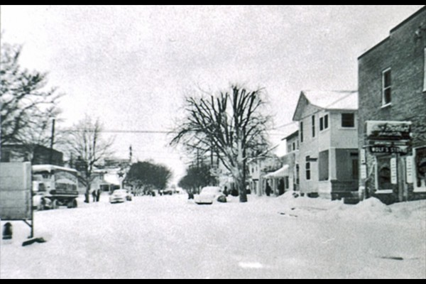West National Road, Englewood, Blizzard 1950